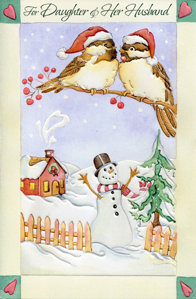 two chickadee cards458